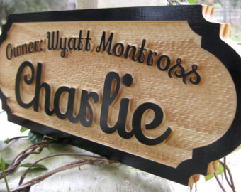 Awesome Picture Of Wooden Door Name Plates Fabulous Homes