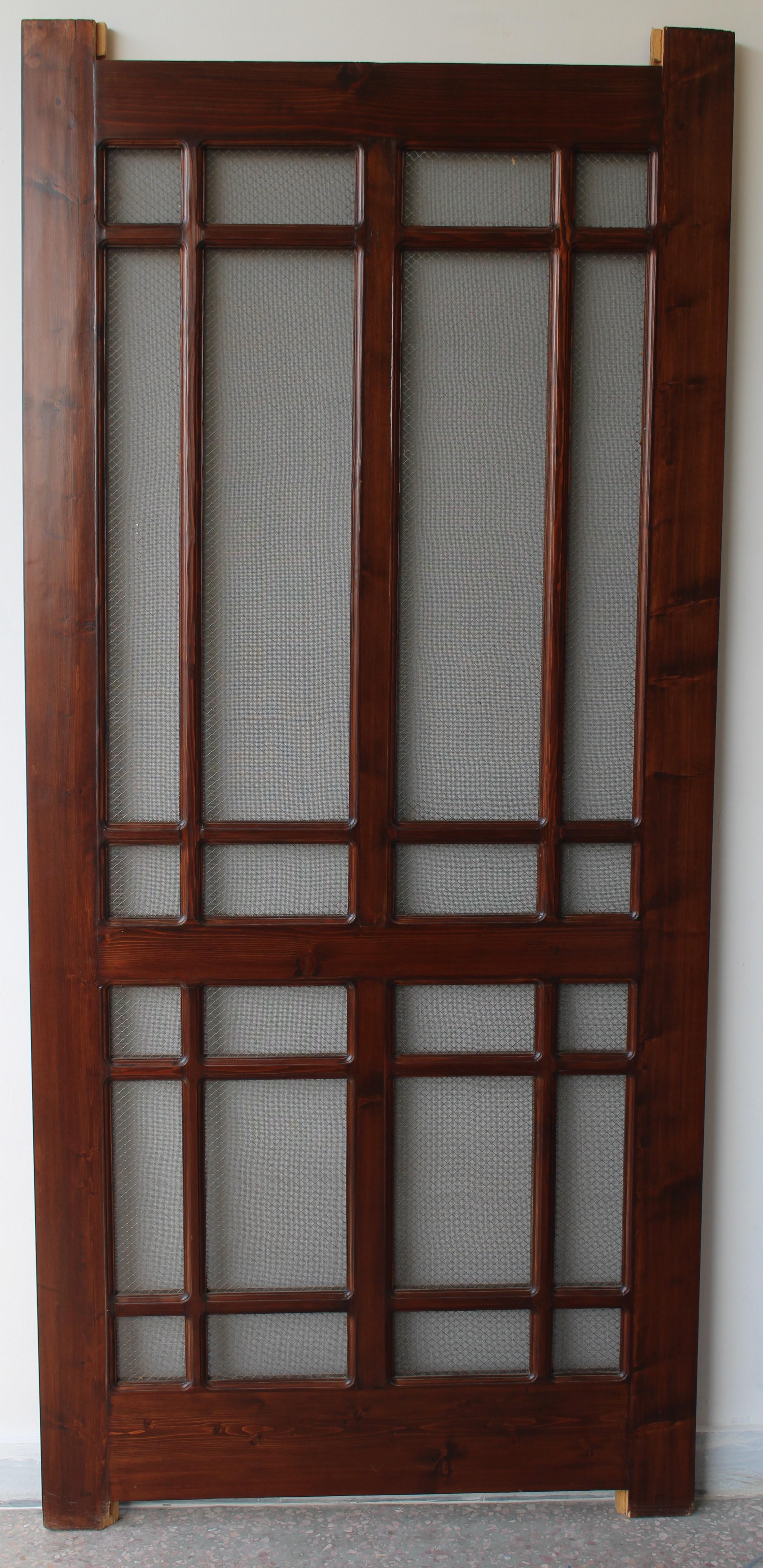 Jali solid door compuart for Main door glass design